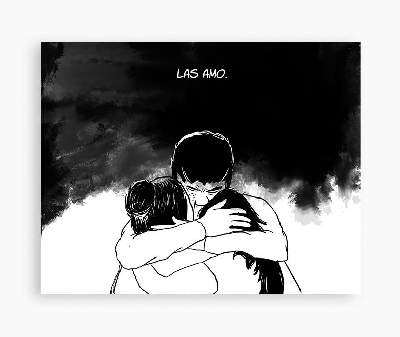 AguaNegra Comic sobre la inundación de La Plata (2019)