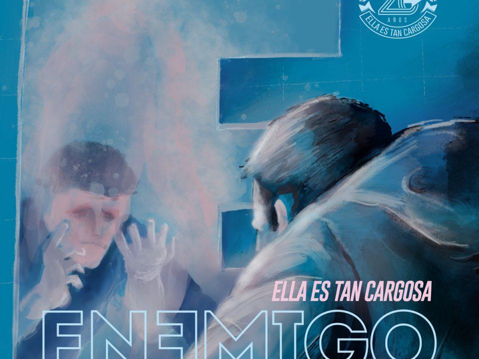 Enemigo - EETC, cover art por Max Bidart